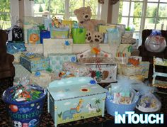 snookis baby shower gifts | Snooki's gifts included an animal-print diaper bag ... of course ...