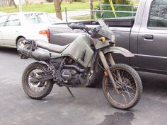 KLR 650, or any other enduro. (dad would know)