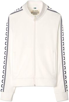 f1ddd44eaddb Tory SportTory Burch CRISSCROSS TRACK JACKET Athletic Women