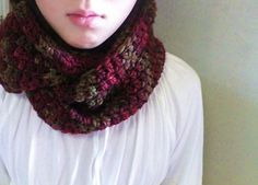free infinity scarf pattern super easy double crochet only