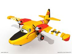 Dipper and all the others - Disney Planes Fire and Rescue Papercraft......printables for parties.