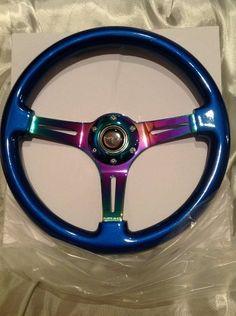 NRG Innovation BLUE wood wheel, 350mm, 3 spoke center in NEO CHROME steering wheel NRG Innovations http://www.amazon.com/dp/B00FW5XWDU/ref=cm_sw_r_pi_dp_zJVStb11YHJDD8GF