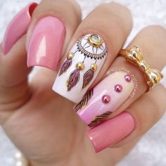 Nov 2018 - Nails and hands care, cool designs and some DIY. See more ideas about Nails, Nail designs and Nail art designs. Frensh Nails, Pink Nails, Hair And Nails, Acrylic Nails, Art Nails, Fabulous Nails, Perfect Nails, Gorgeous Nails, Pretty Nails