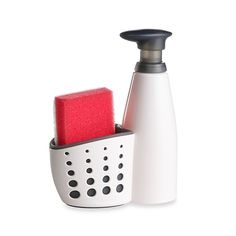 Sink Soap Dispenser with Sponge Holder and Sponge