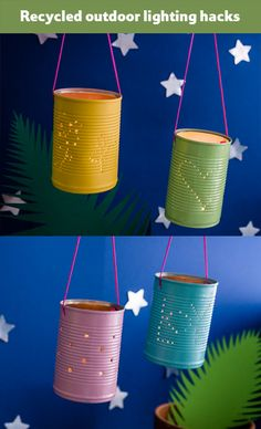 DIY garden lanterns: easy to make and add an instant bohemian feel to your…