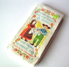 Vintage Paper Towelettes with GoodNatured Jest by PoorLittleRobin, $8.00