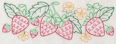 Summer Strawberry Border (Vintage)