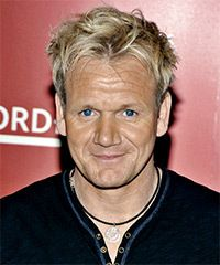 Gordon Ramsey: not beautiful in the classic way, but he has something special...