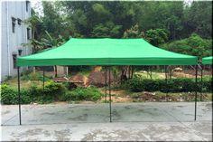 Outdoor Canopy Gazebo Shelter 10x20 Party Backyard Green Steel Fabric Pop Up US $259.99 #OutdoorCanopyGazeboShelter