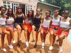 shared puctures of her clad in modern traditional Zulu attire Zulu Traditional Attire, Modern Traditional, Lifestyle, Inspiration, Beauty, Fashion, Biblical Inspiration, Moda, Fashion Styles