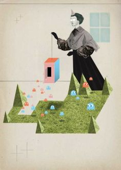 illustrations created by Tilman Faelker — Designspiration