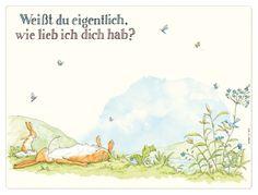 """""""Weißt du eigentlich wie lieb ich dich hab"""" Platzset - myToys.de"""