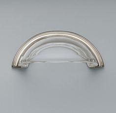"Round Glass Pull, R|H [4"" $19]"