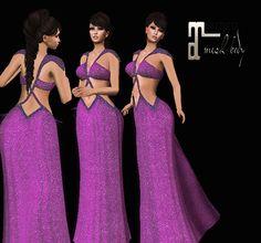 3c304bab196d Fantasy dress Maitreya Fantasy Dress, Formal Dresses, Second Life, Clothes,  Check,