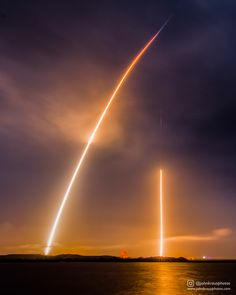 Today is the one year anniversary of the first Falcon 9 landing. Here's my long exposure of the historic event.