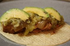Crock Pot Carnitas - way more fun than taco meat!