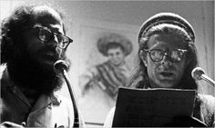 Allen Ginsberg and Peter Orlovsky - Photograph by Robert Frank]-The Allen Ginsberg Project: Allen to Peter, 1961 (on Dissolution of Ego)