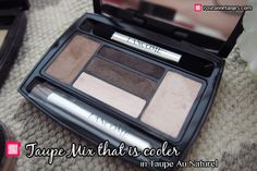 Review and Tutorial: Lancome Hypnose Eye-shadow Palette Star Eyes – Brun Au Naturel