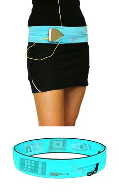Everything all in one place! This is perfect for when you workout, walk or travel. FlipBelt