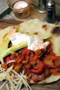 Pinto bean chili from River Cottage Veg (book) by Hugh Fearnley-Whittingstall