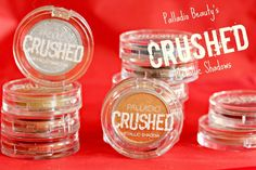 Palladio Beauty's CRUSHED Metallic Shadow Swatches & Review - The Mixed Bag