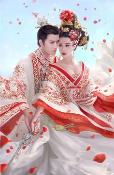 Asian art The Empress of China, available in full body! | Cfensi Chinese Style, Chinese Art, Chinese Fashion, Traditional Chinese, The Empress Of China, Empress Ki, Art Asiatique, Kaiser, Chinese Culture