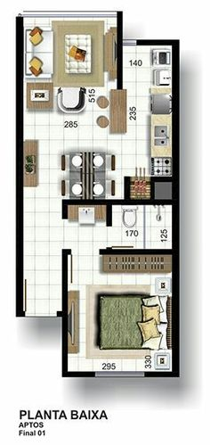 Studio Floor Plans, Small House Floor Plans, Modern House Plans, Tiny House Layout, Tiny House Design, House Layouts, Studio Type Apartment, Hotel Room Design, Sell My House