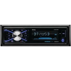 Boss Audio Single-din In-dash Mechless Am And Fm Receiver With Detachable Face (with Bluetooth)