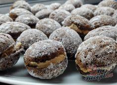 Plněné ořechy a oříšky – nejlepší recepty | NejRecept.cz Cooking Recipes, Healthy Recipes, Biscotti, Sweet Tooth, Deserts, Food And Drink, Easy Meals, Sweets, Cookies