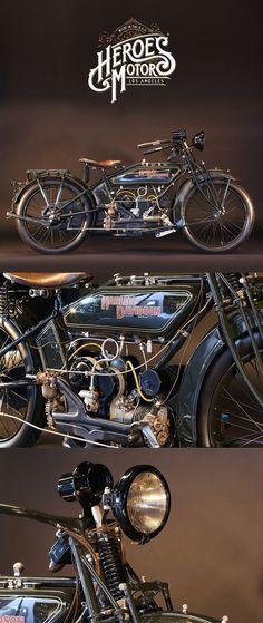1922 HARLEY-DAVIDSON 600cc MODEL WJ SPORT #harleydavidsoncaferacer #vintagemotorcycles