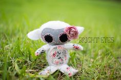 Lamb Plush by Brighteyesshop on Etsy Bright Eyes, Lamb, Plush, Teddy Bear, Trending Outfits, Toys, Unique Jewelry, Handmade Gifts, Animals
