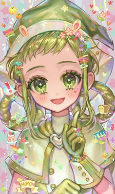 Cute Kawaii Drawings, Kawaii Art, Cute Anime Chibi, Kawaii Anime, Old Anime, Manga Anime, Ojamajo Doremi, Film Animation Japonais, Cute Panda Wallpaper