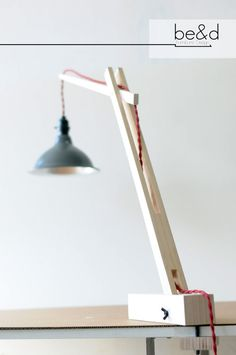 The Crane  Desk Lamp by BeadFurnitureDesign on Etsy
