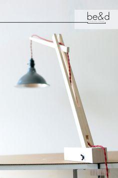 The Crane  Desk Lamp by BeadFurnitureDesign on Etsy