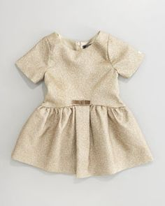 -3ZFL Lili Gaufrette Laura Brocade Dress