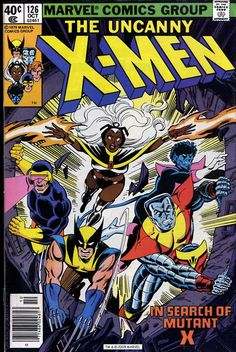 X-Me #126. Dave Cockrum