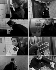 ❤NEWS❤  Emma Watson Hides Books Around the New York City Subway (◠‿◠✿)  Crediti : Queen Watson   ~EmWatson