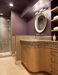 7 Best Purple Gold Bathroom Images