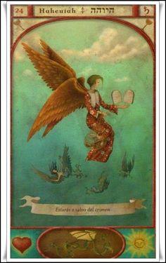 Las Revelaciones del Tarot: Haheuiah - Genio Numero Venticuatro de La Cabala