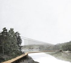 Studio Holmberg . National Park . Alby-Tyresta afasia (1) | a f a s i a National Parks, Louvre, Studio, Drawings, Building, Travel, Bridge, Aphasia, Viajes