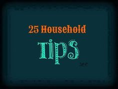 (y) (y) 25 HOUSEHOLD TIPS!!!   1. Take your bananas apart when you get home from the store. If you leave them connected at the stem, they ripen faster.  2. Store your opened chunks of cheese in aluminum foil. It will stay fresh much longer and not mold!  3. Peppers with 3 bumps on the bottom are sweeter and better for eating. Peppers with 4 bumps on the bottom are firmer and better for cooking.  4. Add a teaspoon of water when frying ground beef. It will help pull the grease away from the…