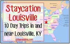 Louisville -- 10 Day Trips In and Near Louisville, Kentucky for awesome !Staycation Louisville -- 10 Day Trips In and Near Louisville, Kentucky for awesome ! Weekend Trips, Day Trips, Weekend Getaways, Vacation Spots, Dream Vacations, Vacation Ideas, Vacation Destinations, Oh The Places You'll Go, Places To Travel