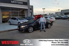 #HappyBirthday to gerald from Antonio Page at Westside Kia!  https://deliverymaxx.com/DealerReviews.aspx?DealerCode=WSJL  #HappyBirthday #WestsideKia