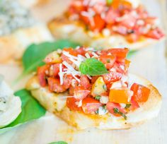 This Easy Italian Staple Is What's Going To Get You Through The Summer...Bruschetta's Where It's At!
