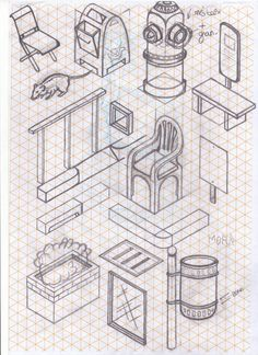 Chaos Sketch by Miquel Tura Rigamonti, via Behance