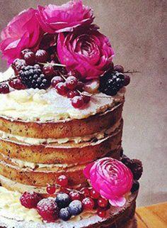 Lilly Vanilli spring berry buttercream cake