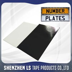 Double Sided Adhesive Pad Bike Number Plate Design