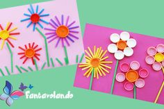 Diy For Kids, Crafts For Kids, Arts And Crafts, Spring Art, Spring Crafts, Craft Activities, Preschool Crafts, Princesse Party, Arte Online