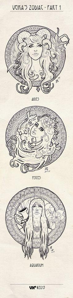 Zodiac - Part 1 by veika