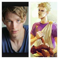 Dream cast for Percy Jackson Olympians/hero's of Olympus Octavian